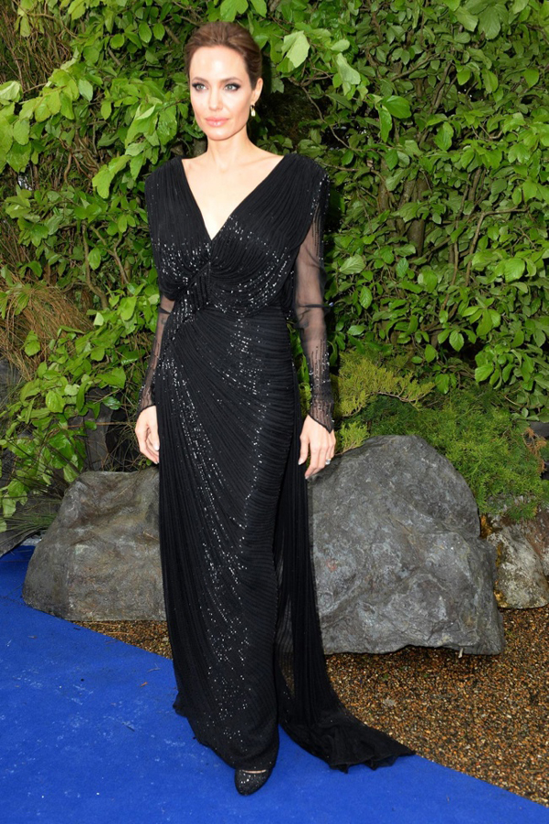 Angelina Jolie Atelier Versace Maleficent