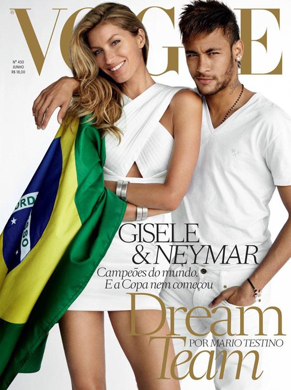 Gisele Neymar Vogue Mondiali 2014