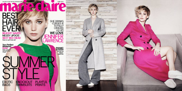 Marie Claire Jennifer Lawrence