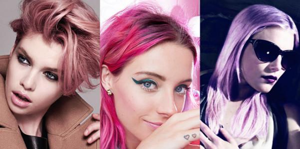 Le modelle con i capelli rosa very cool