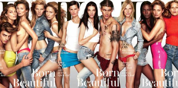W magazine Born Beautiful