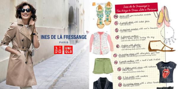 Ines de la Fressange Uniqlo