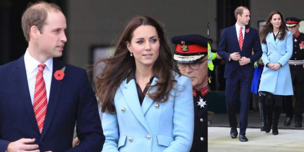 cappotto azzurro Kate Middleton