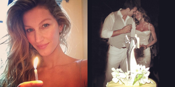 Abito sposa Gisele Bundchen