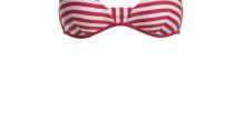 costumi yamamay estate 2015 bikini righe rosse