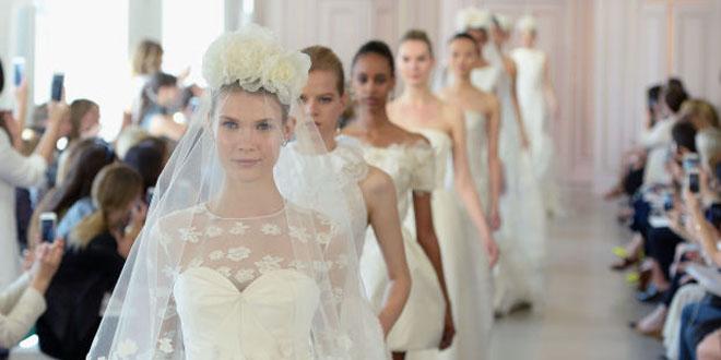 abiti da sposa 2016 oscar de la renta