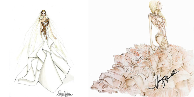 abito da sposa lady gaga