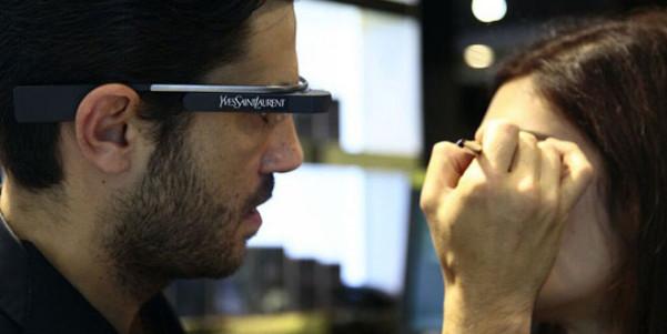 google glass yves saint laurent