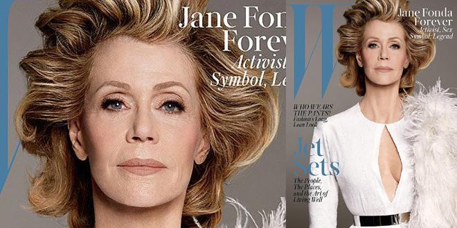 jane fonda w magazine