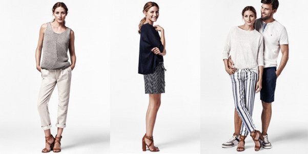 olivia palermo guest editor tommy hilfiger