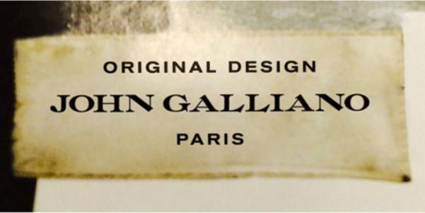 john galliano nuovo logo