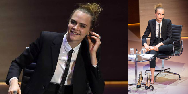 Cara Delevingne Women in The World