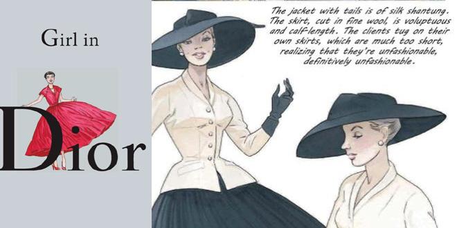 libro Girl in Dior