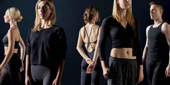 oysho collezione studio danza parsons