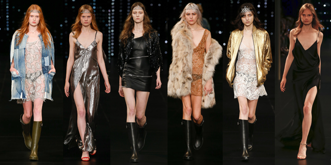 pfw pe 2016 saint laurent