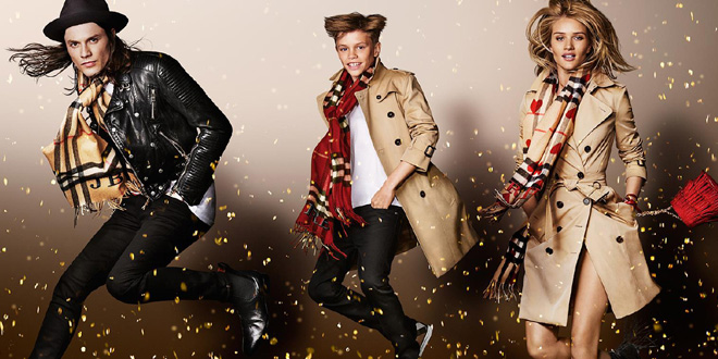 burberry natale 2015 billy elliot