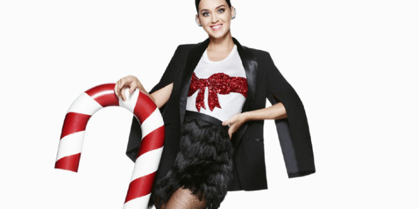 katy perry hm holiday 2015 foto