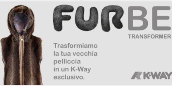 k-way servizio furbe pellicce