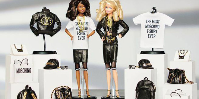 moschino capsule collection barbie