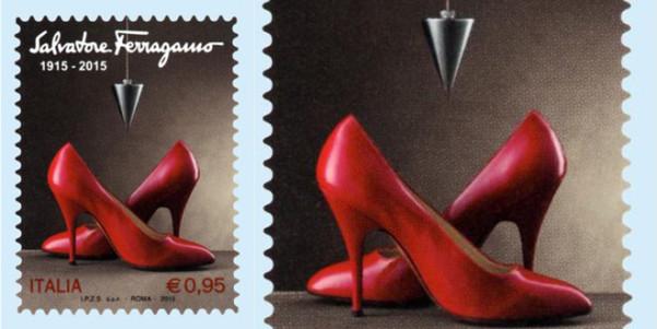 scarpe marilyn ferragamo francobollo