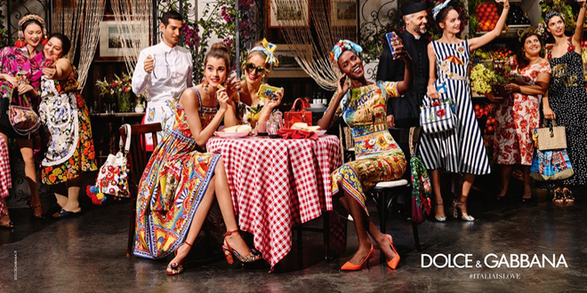 Italia is Love Dolce Gabbana pe 2016