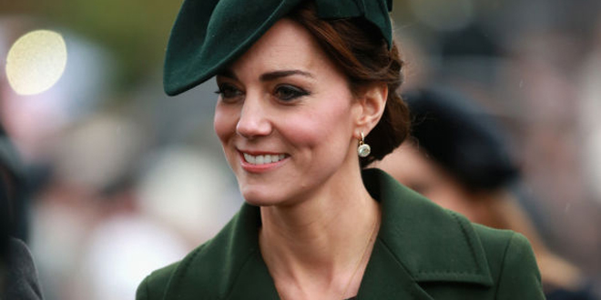 cappotto verde kate middleton