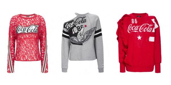 selezione migliore e1e3d d8ea7 Pinko e Coca Cola, la collezione di felpe | Very Cool!
