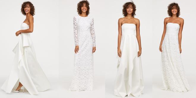 Gli abiti da sposa low cost di HM 0c6f552a3de