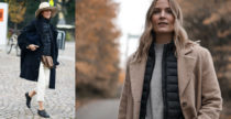 Trend alert: il piumino sotto il cappotto