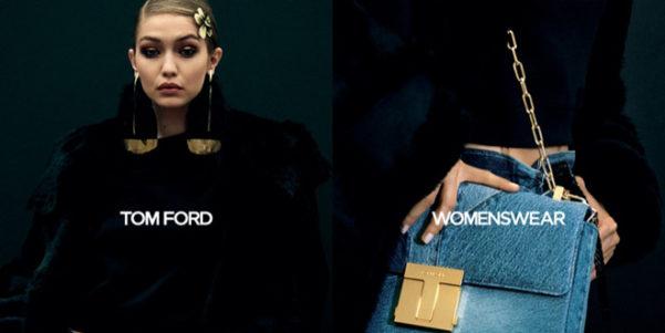 Gigi Hadid è il nuovo volto di Tom Ford, e non è sola