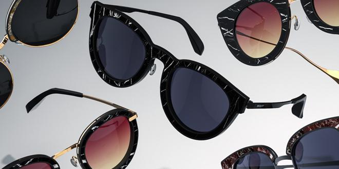 Gli occhiali da sole di marmo? Sì, li ha fatti Roxxlyn
